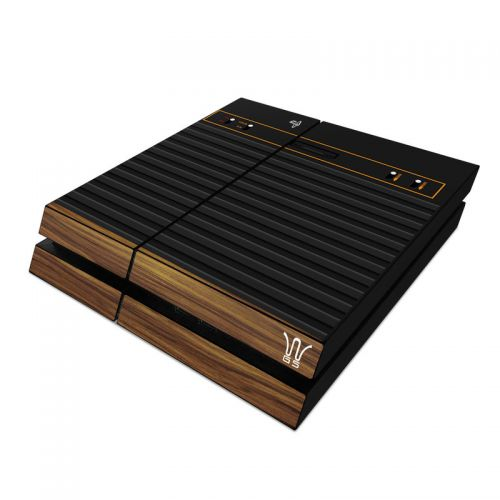 Wooden Gaming System PlayStation 4 Skin