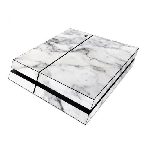 White Marble PlayStation 4 Skin