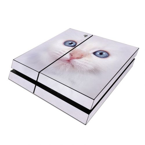 White Kitty PlayStation 4 Skin