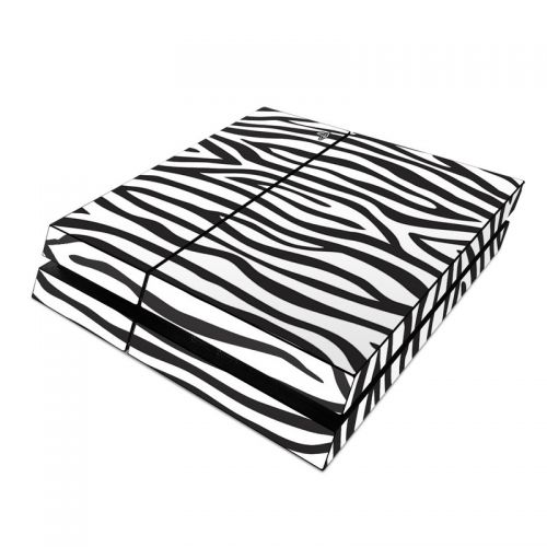 Zebra Stripes PlayStation 4 Skin