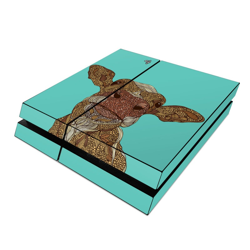 PlayStation 4 Skin design of Head, Illustration, Art, Fictional character with brown, green colors