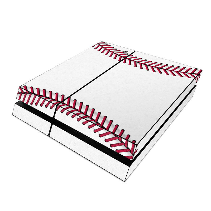 PlayStation 4 Skin design of Red, Line, Pink, Parallel, Paper with white, red colors