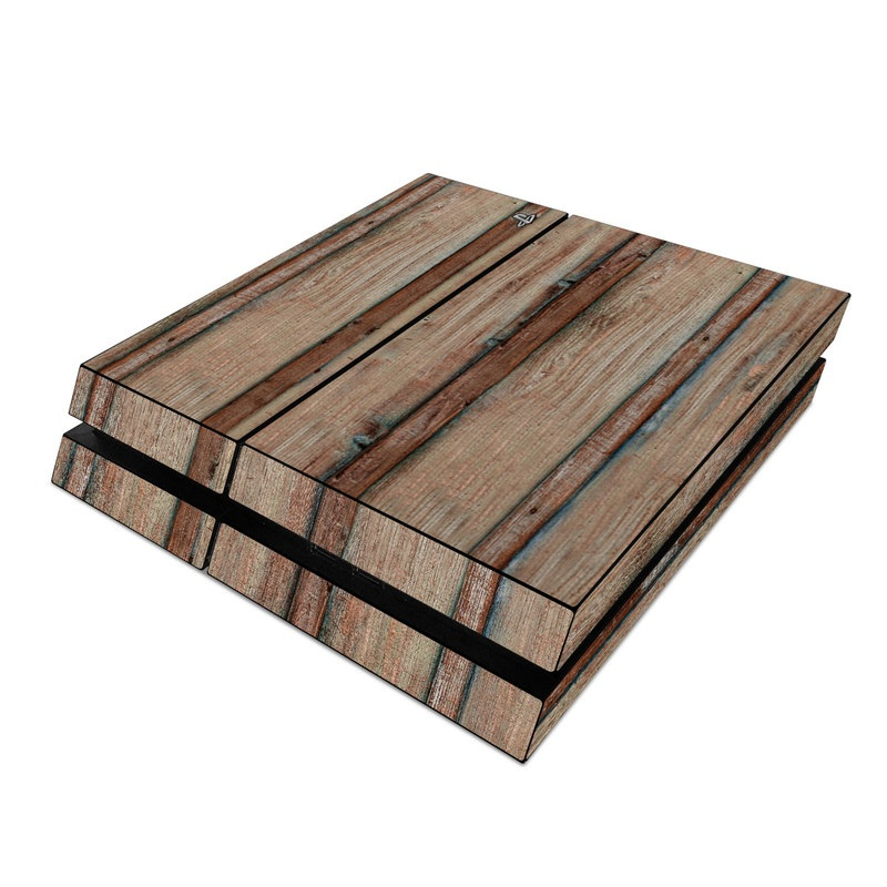 Boardwalk Wood PlayStation 4 Skin