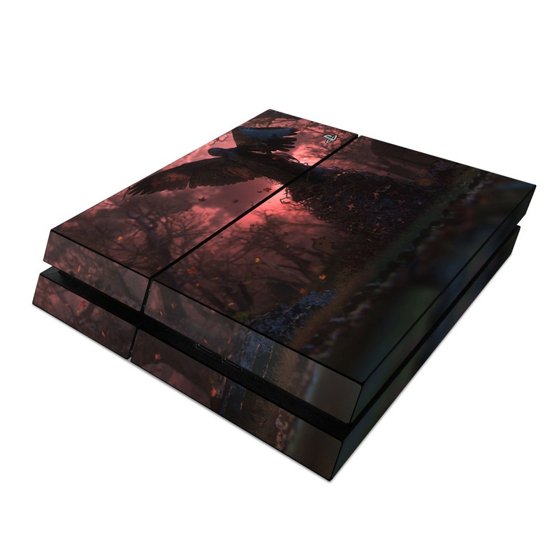 Black Angel PlayStation 4 Skin