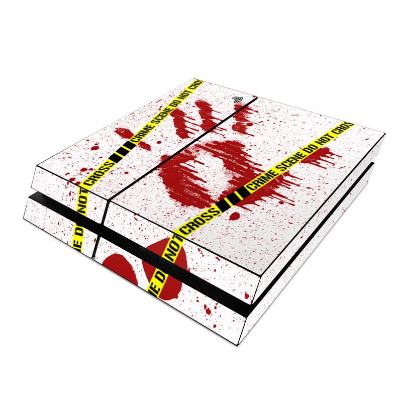 Crime Scene Revisited PlayStation 4 Skin