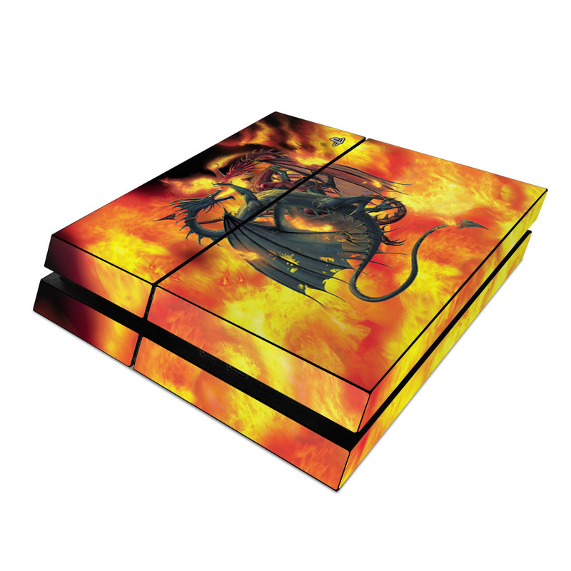 Dragon Wars PlayStation 4 Skin