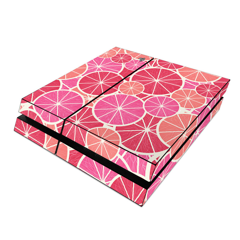 Grapefruit PlayStation 4 Skin