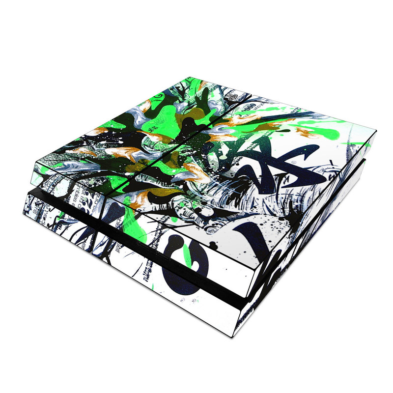 Green 1 PlayStation 4 Skin