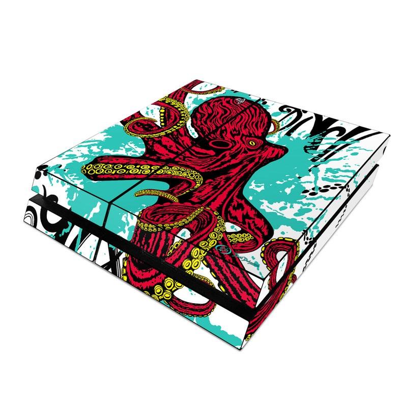 Octopus PlayStation 4 Skin