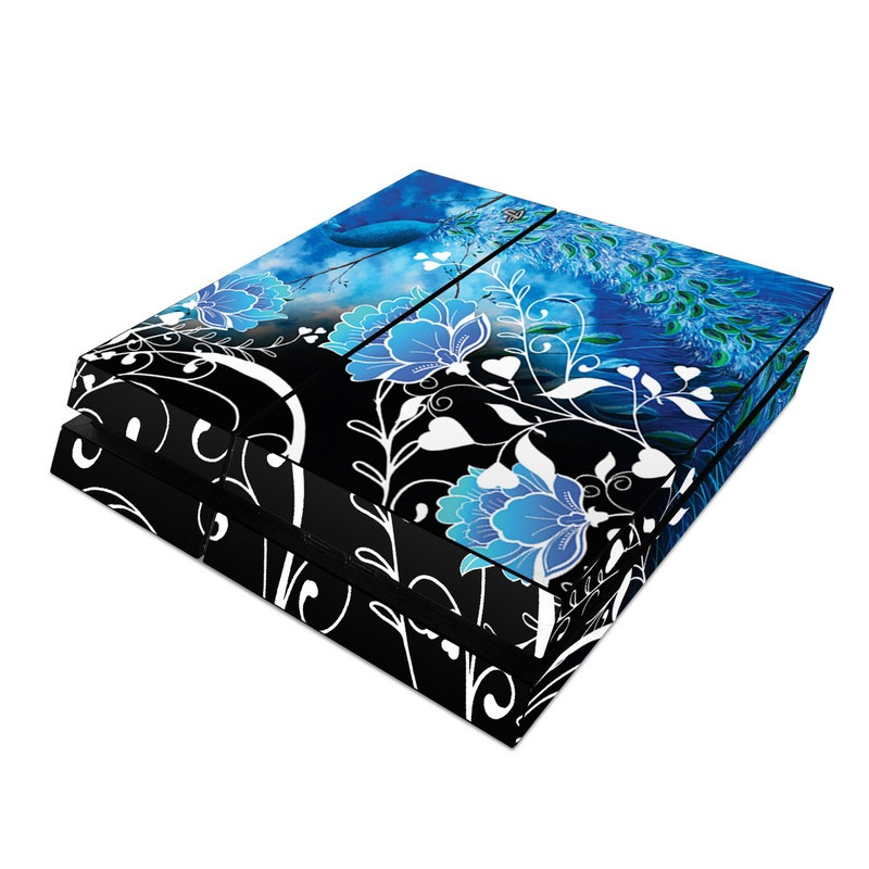 Peacock Sky PlayStation 4 Skin