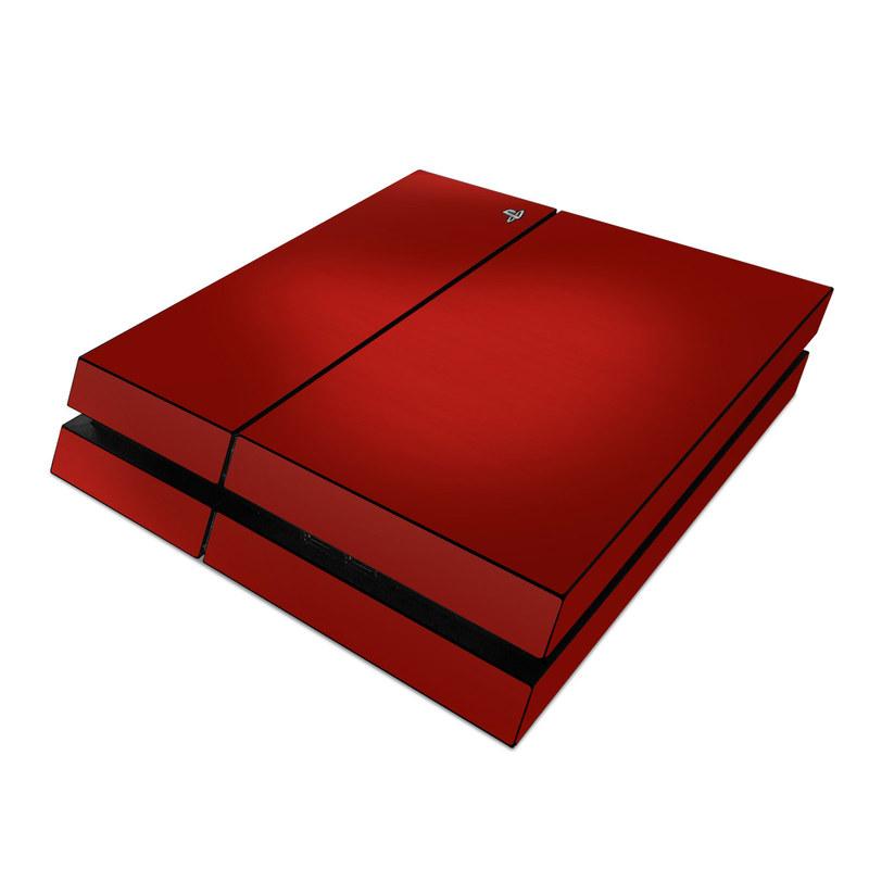 Red Burst PlayStation 4 Skin