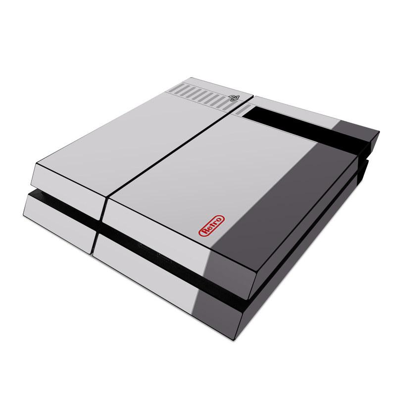 Retro Horizontal PlayStation 4 Skin