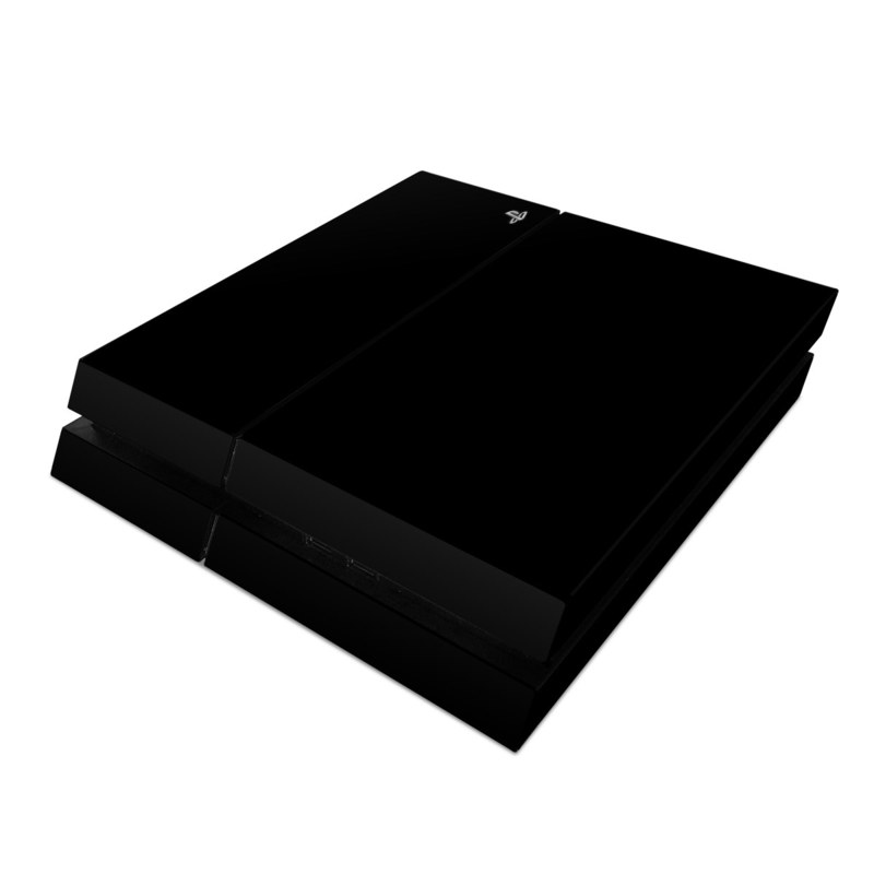 Solid State Black PlayStation 4 Skin