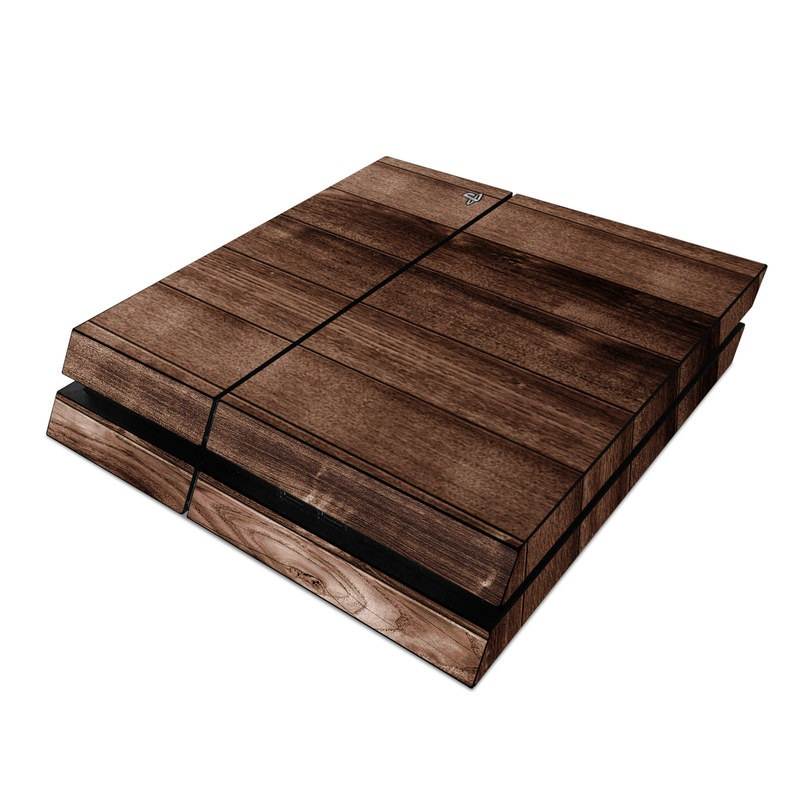 Stained Wood PlayStation 4 Skin