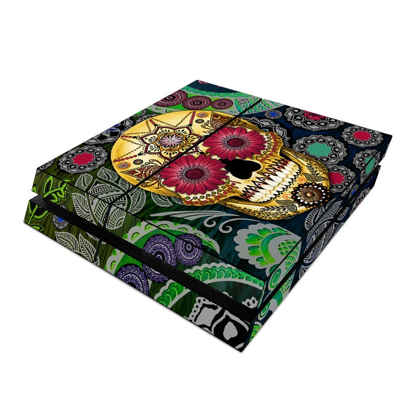 Sugar Skull Paisley PlayStation 4 Skin