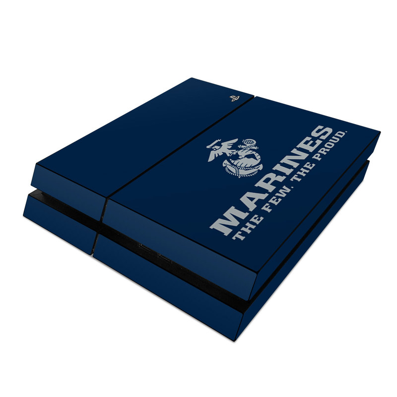 USMC Blue PlayStation 4 Skin