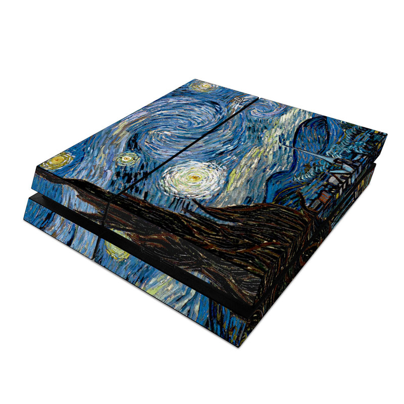 Starry Night PlayStation 4 Skin
