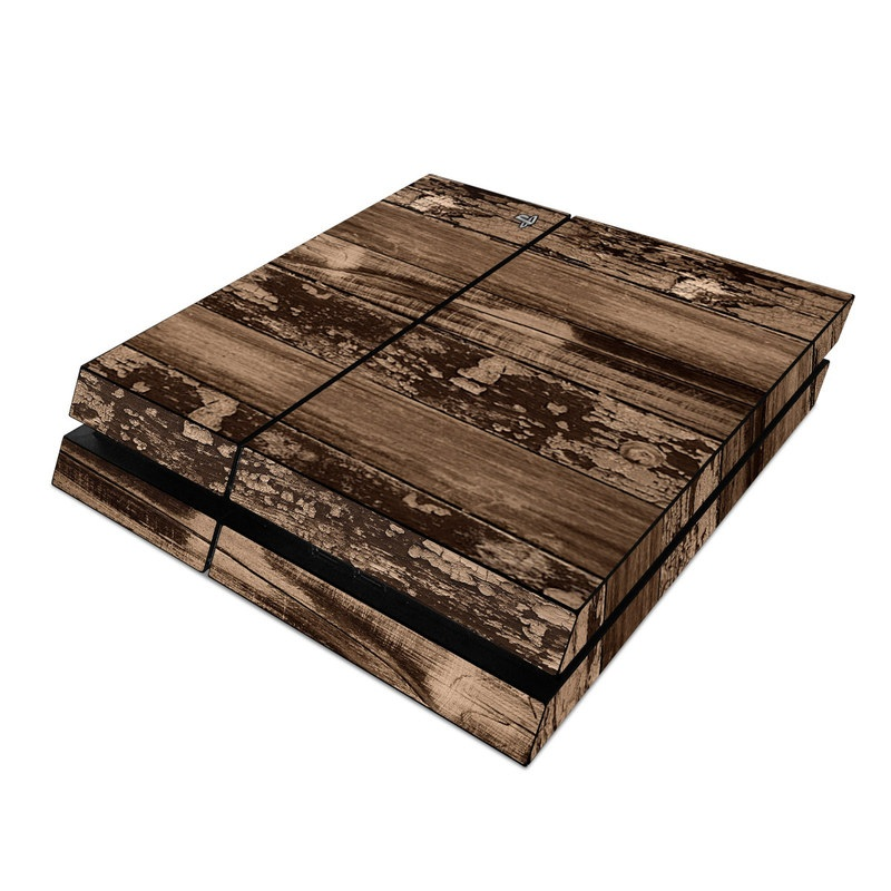 18866e7710d72 Weathered Wood PlayStation 4 Skin