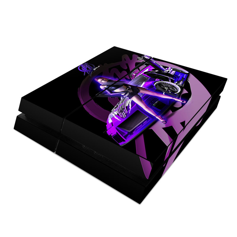 Z33 Purple PlayStation 4 Skin