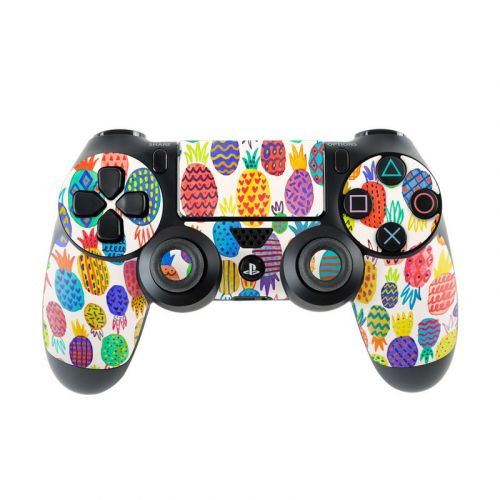 Colorful Pineapples PlayStation 4 Controller Skin