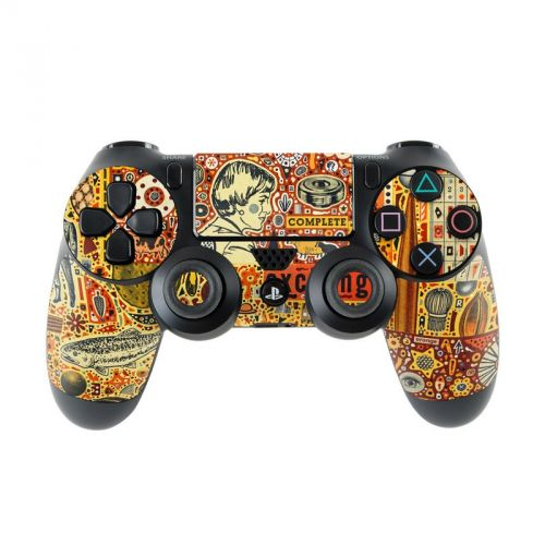 The Golding Time PlayStation 4 Controller Skin