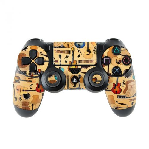 Guitar Collage PlayStation 4 Controller Skin