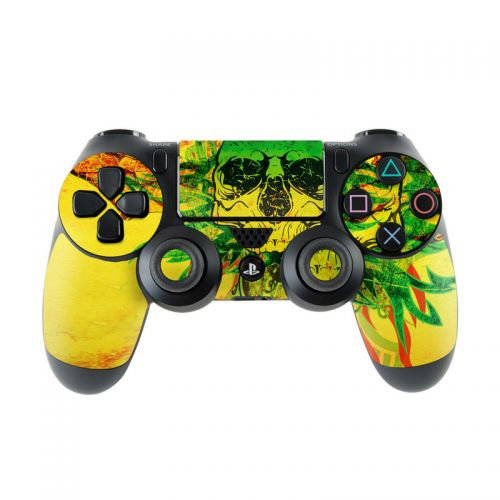 Hot Tribal Skull PlayStation 4 Controller Skin
