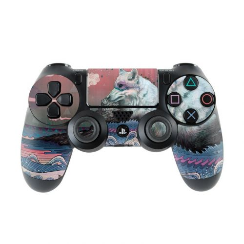 Lone Wolf PlayStation 4 Controller Skin