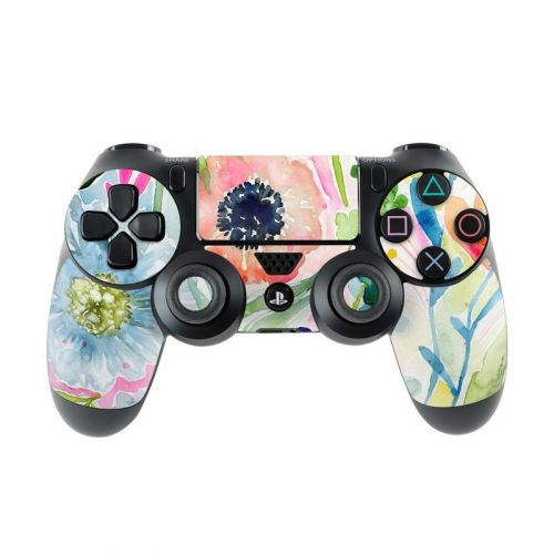 Loose Flowers PlayStation 4 Controller Skin