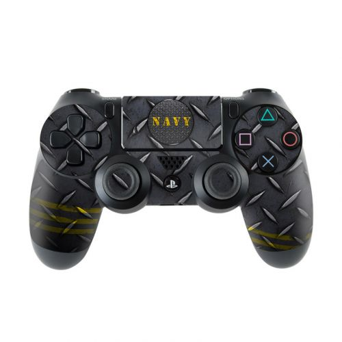 Navy Diamond Plate PlayStation 4 Controller Skin