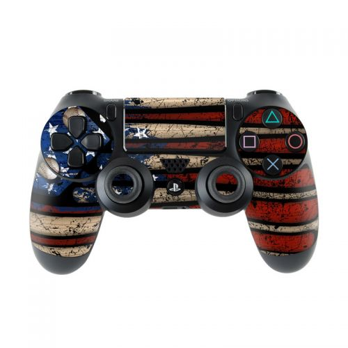 Old Glory PlayStation 4 Controller Skin
