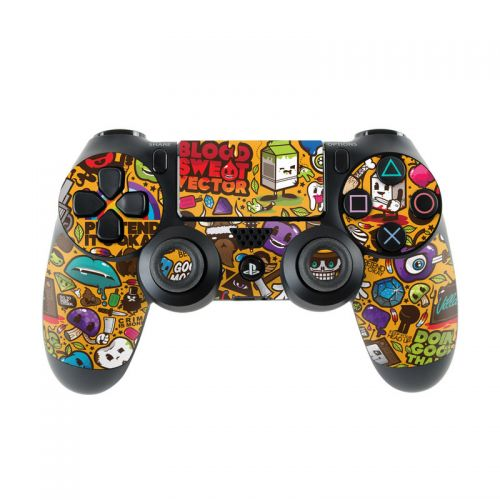Psychedelic PlayStation 4 Controller Skin