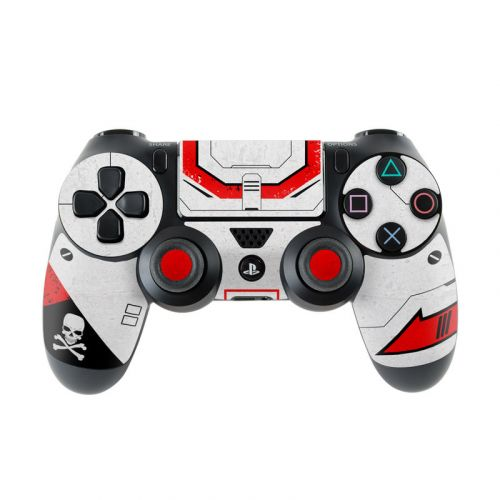 Red Valkyrie PlayStation 4 Controller Skin