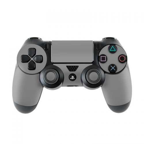 Solid State Grey PlayStation 4 Controller Skin