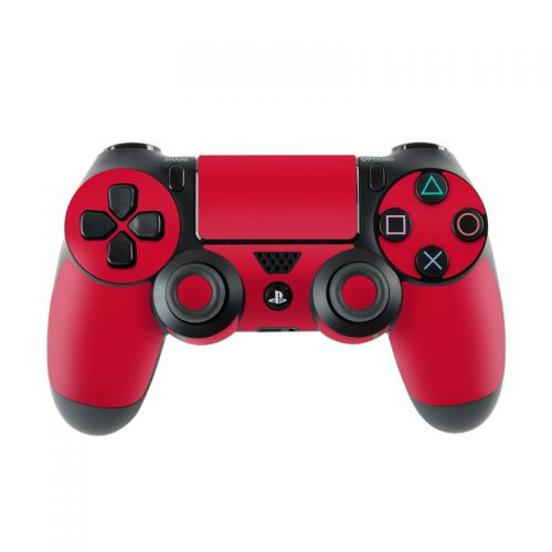 Solid State Red PlayStation 4 Controller Skin