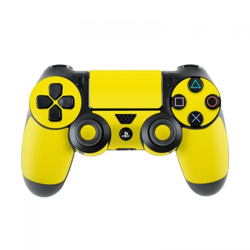 Solid State Yellow PlayStation 4 Controller Skin