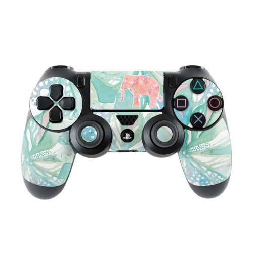 Tropical Elephant PlayStation 4 Controller Skin