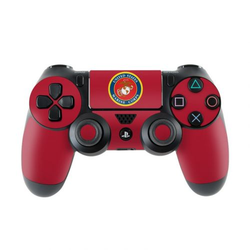 USMC Red PlayStation 4 Controller Skin
