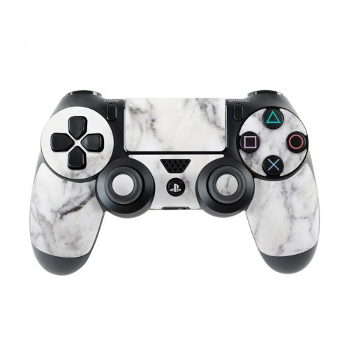 White Marble PlayStation 4 Controller Skin