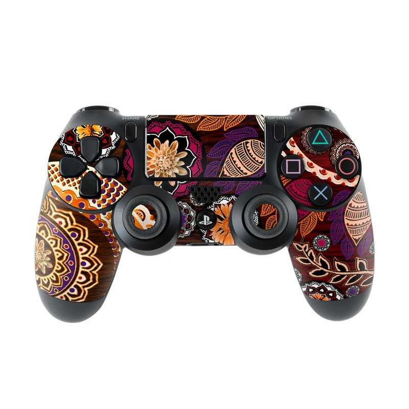 Autumn Mehndi PlayStation 4 Controller Skin