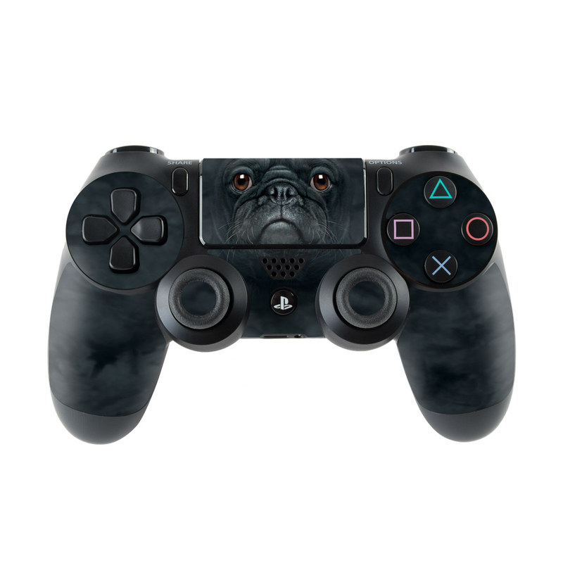 Black Pug PlayStation 4 Controller Skin