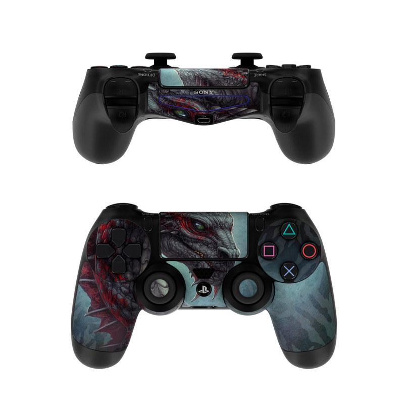 Black Dragon PlayStation 4 Controller Skin