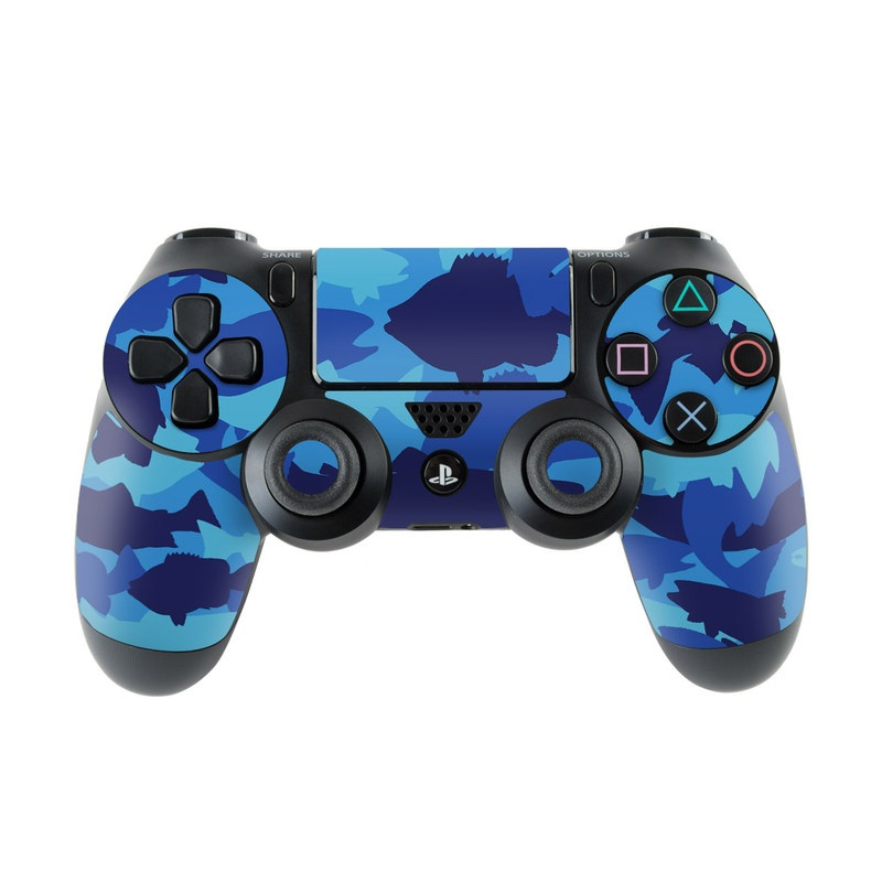Camo Fish PlayStation 4 Controller Skin