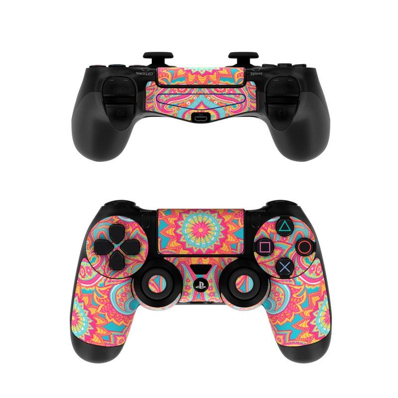 Carnival Paisley PlayStation 4 Controller Skin