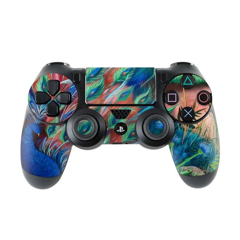 Coral Peacock PlayStation 4 Controller Skin