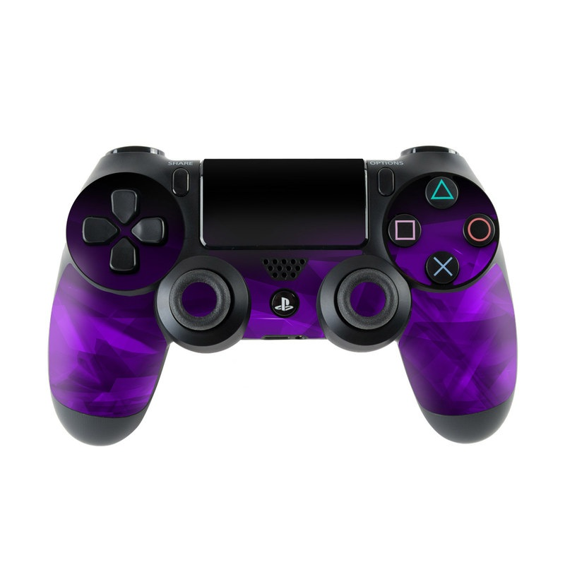 Dark Amethyst Crystal PlayStation 4 Controller Skin