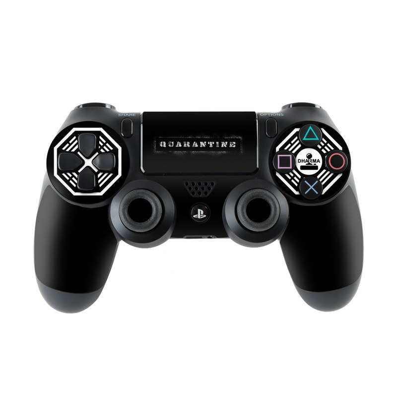 Dharma Black PlayStation 4 Controller Skin