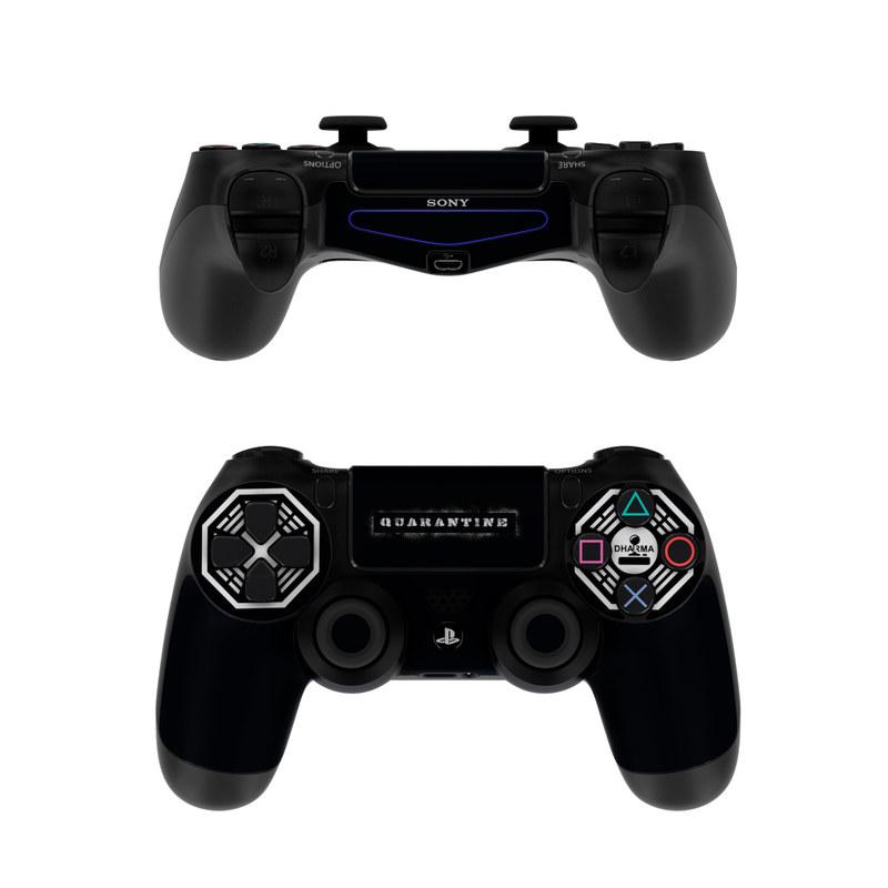 Dharma Black PlayStation 4 Controller Skin