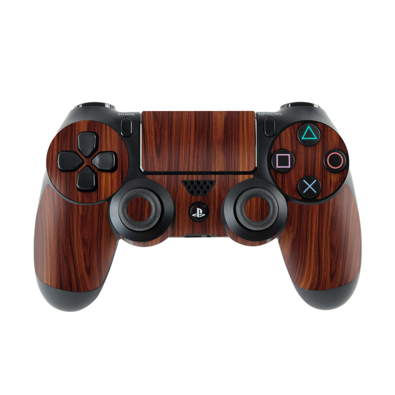 PlayStation 4 Controller Skin design of Wood, Red, Brown, Hardwood, Wood flooring, Wood stain, Caramel color, Laminate flooring, Flooring, Varnish with black, red colors