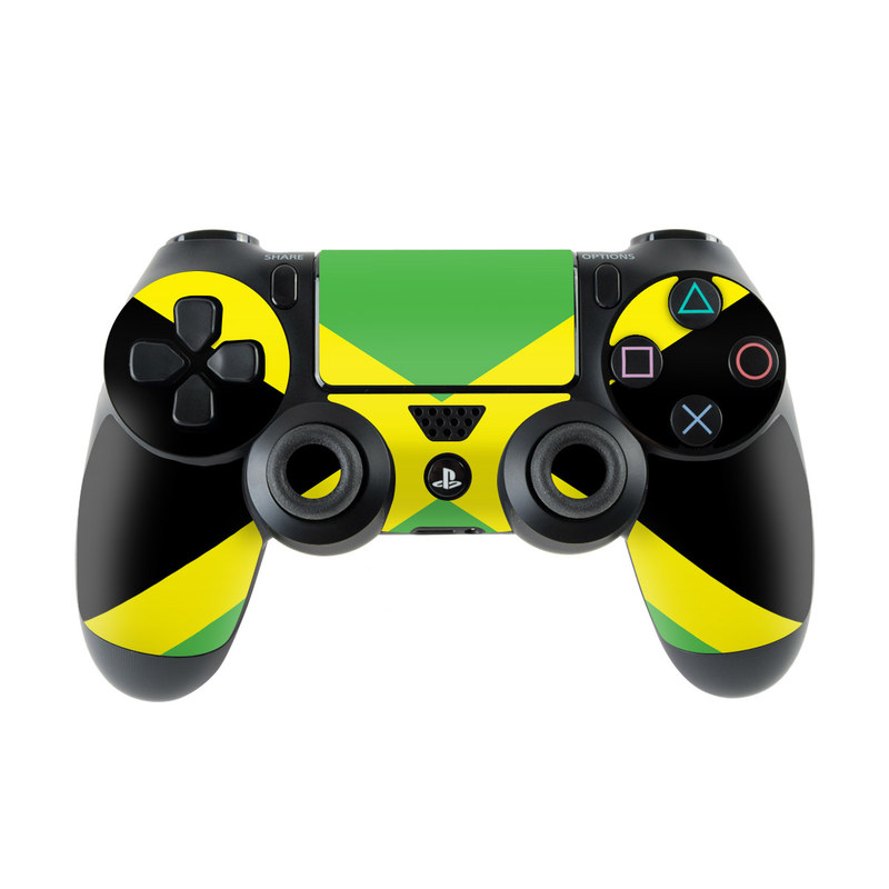 Jamaican Flag PlayStation 4 Controller Skin